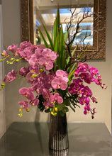 Load image into Gallery viewer, S57 - Modern Purple Orchid Arrangement - Flowerplustoronto