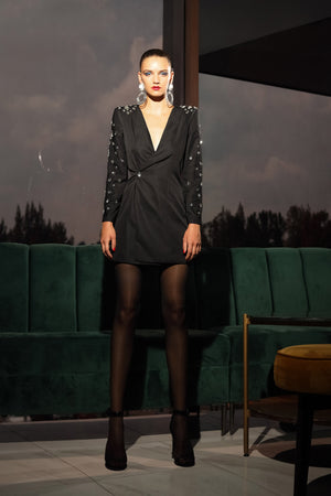 BLING BLING BLAZER DRESS