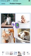 Load image into Gallery viewer, best thermometer for kids best instant read thermometer× wireless thermometer temporal thermometer ear thermometer laser thermometer forehead thermometer best thermometer instant read thermometer digital thermometer infrared thermometer