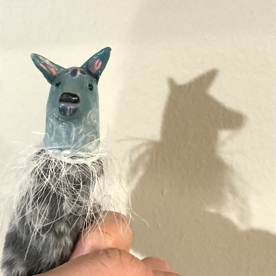 Little Deer Finger Puppet  (exact item shown)