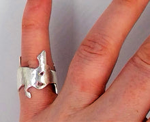 Load image into Gallery viewer, Commission- Irish hare brooch and ring