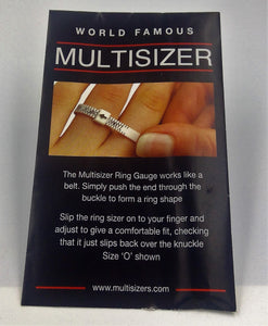 Ring sizer (Uk orders only)