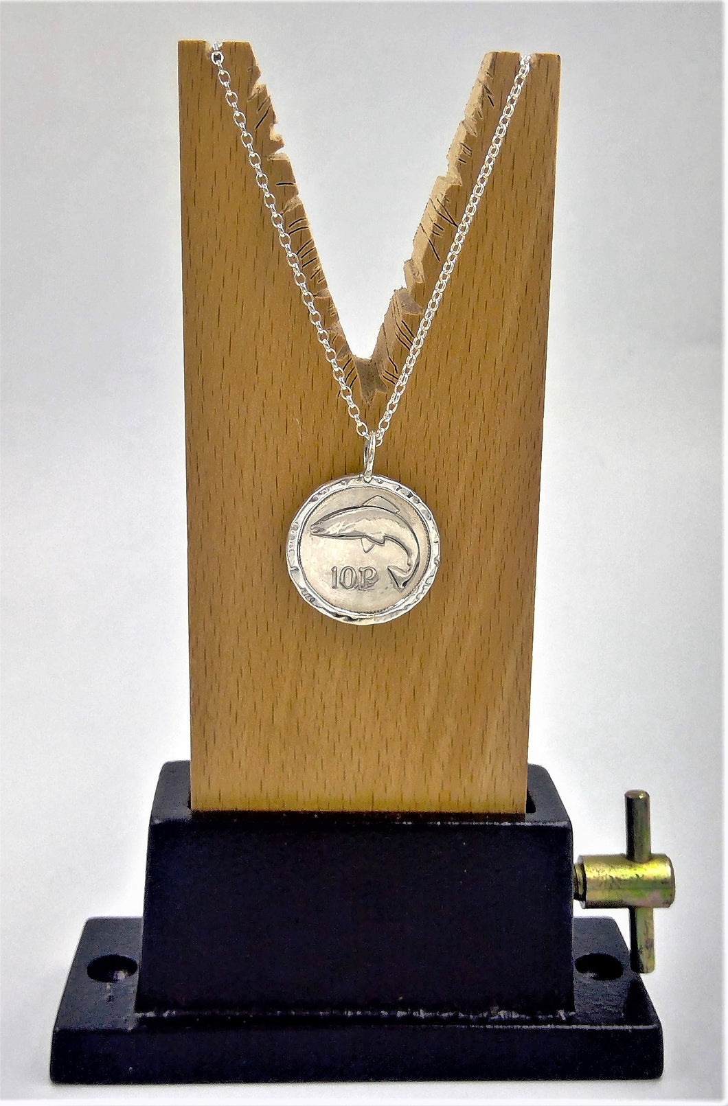 '10p' (new) Coin pendant