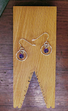 Load image into Gallery viewer, 'Aye' Amethyst earrings