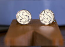 Load image into Gallery viewer, 'Thrupenny' Coin cufflinks