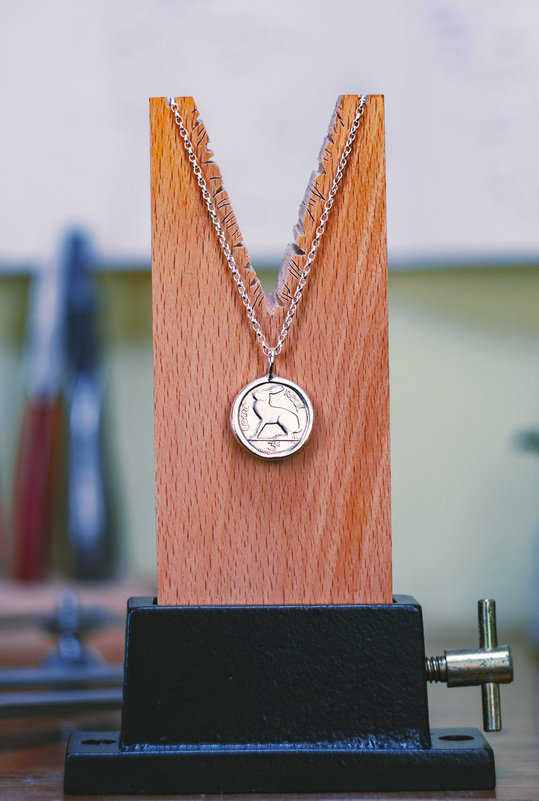'Thrupenny' Coin pendant