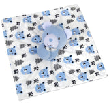 Baby Essentials Blue Bear Lovey Blanket Snuggler