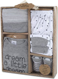 "Baby Essentials ""Dream a Little Dream"" Unisex Baby Clothes 4-Piece Set, 0-6mo"