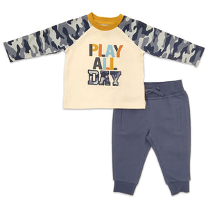 Baby Essentials Play All Day 2-Piece Set