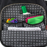 Fisher Price Signature Quilted Avery Backpack Diaper Bag, Black