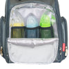 Fisher Price Kaden FastFinder 3-Piece Set Diaper Bag Backpack- Grey