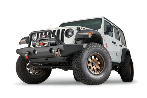 WARN FULL-WIDTH CRAWLER BUMPER WITH GRILLE GUARD TUBE FOR JL, JK, & JT - 102146