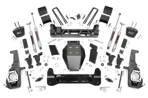7.5in GM Torsion Bar Drop Suspension Lift Kit (11-19 2500HD/3500HD)