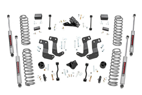 3.5in Jeep Suspension Lift Kit | Control Arm Drop (2020 Wrangler JL | Diesel)
