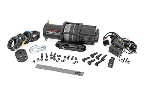 4500LB UTV/ATV Electric Winch w/ Synthetic Rope
