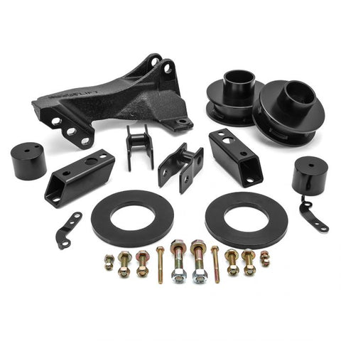"ReadyLift 2.5"" LEVELING KIT W/ TRACK BAR RELOCATION BRACKET - FORD SUPER DUTY 4WD 2011-2021"