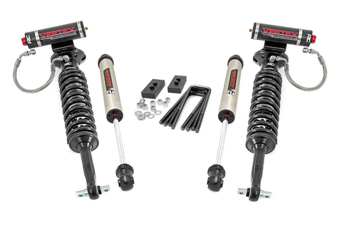2in Ford Leveling Lift Kit w/ Vertex and V2 Shocks (14-20 F-150)