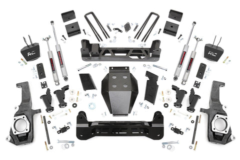 5in GM Torsion Bar Drop Suspension Lift Kit (11-19 2500HD/3500HD)