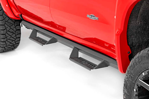 GM Cab-Length AL2 Drop Steps (19-21 GM 1500 / 2020 2500HD/3500 HD | Crew Cab)