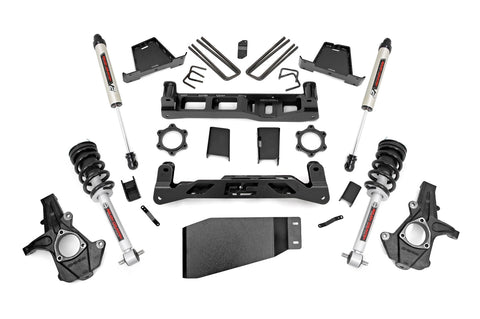 6in GM Suspension Lift Kit w/ N3 Loaded Struts and V2 Shocks