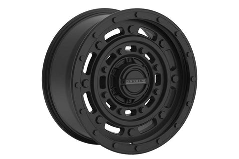Centerline 843B Patton Wheel, 17X9 (8x6.50)