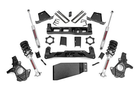 6in GM Suspension Lift Kit w/ N3 Loaded Struts & Shocks