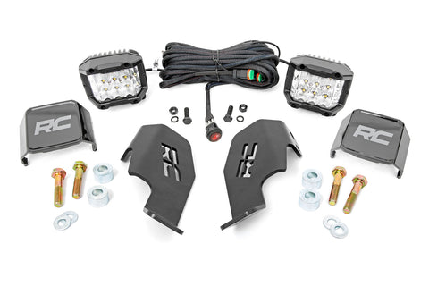 "Honda Dual LED Cube Kit (19-20 Talon | 3"" Wide Angle)"