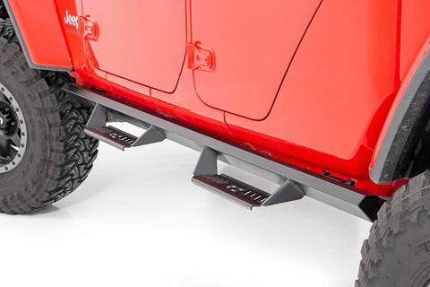 Jeep Cab-Length AL2 Drop Steps (2020 Gladiator JT)