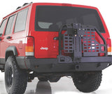 Smittybilt XRC Rear Bumper with Hitch and Tire Carrier for 1984-2001 Jeep Cherokee