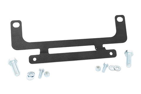 Roller Fairlead License Plate Mount