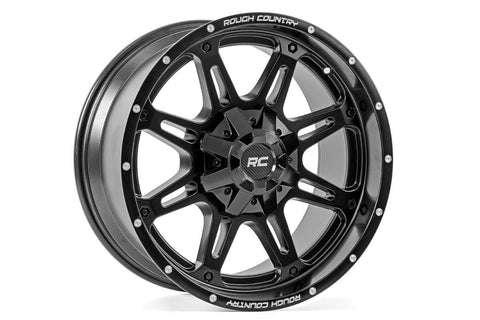 Rough Country One-Piece Series 94 Wheel, 20x10 (5x5 / 5x4.5)