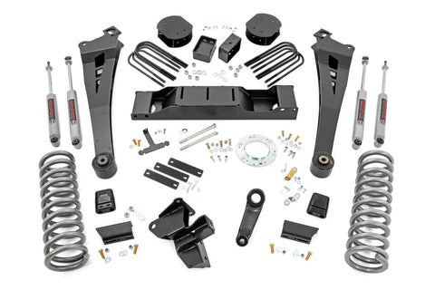 5in Dodge Radius Arm Suspension Lift Kit (2020 Ram 3500 4WD | Diesel, Air Ride, Dual Rear Wheels)