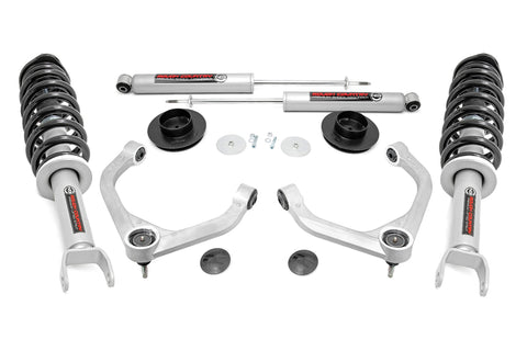 3.5in Ram Bolt-On Lift Kit w/ N3 Struts and Rear N3 Shocks (19-21 Ram 1500 4WD)