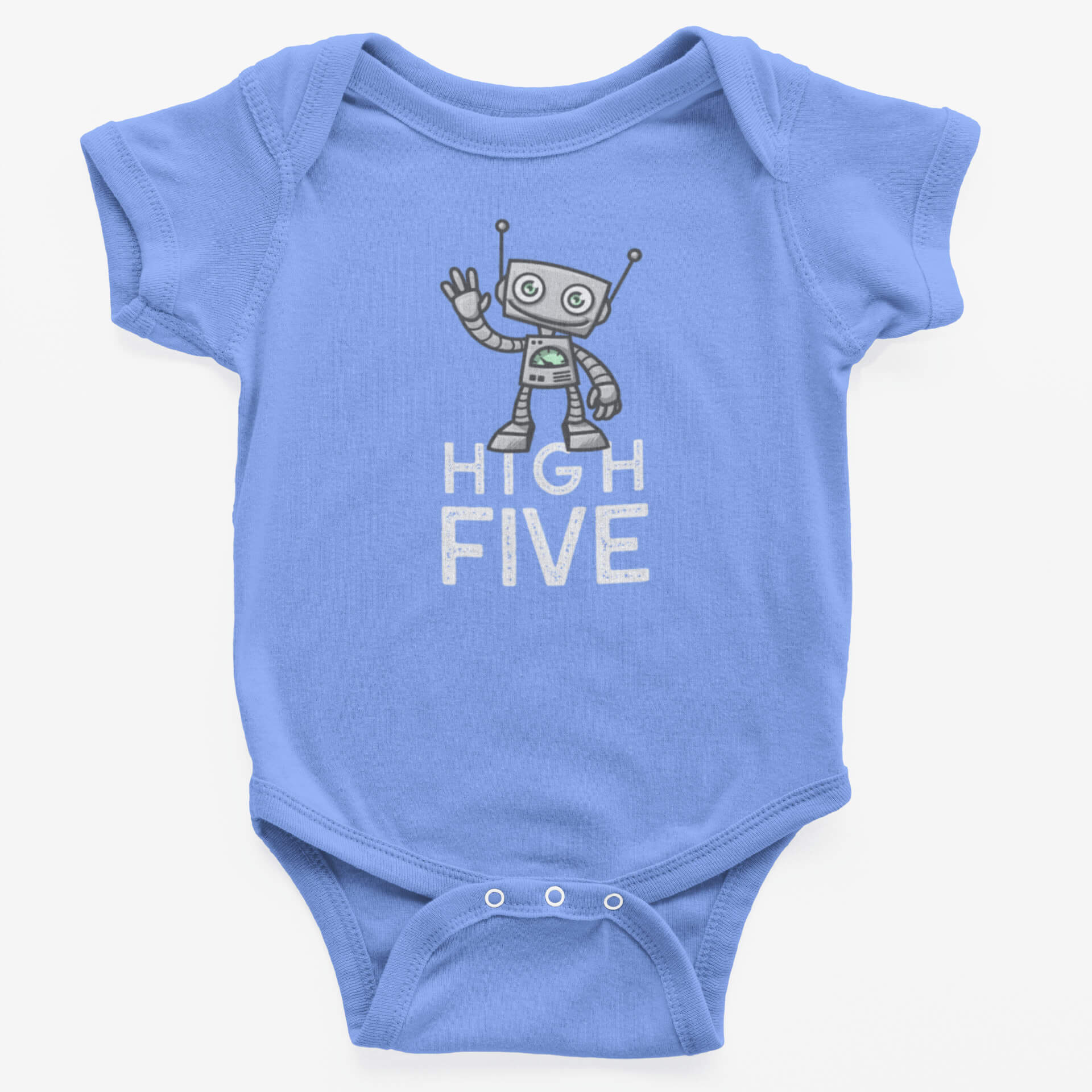Petit robot high five - Body bébé