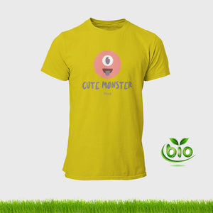 "T-shirt unisexe ""Cute monster"" en coton bio"