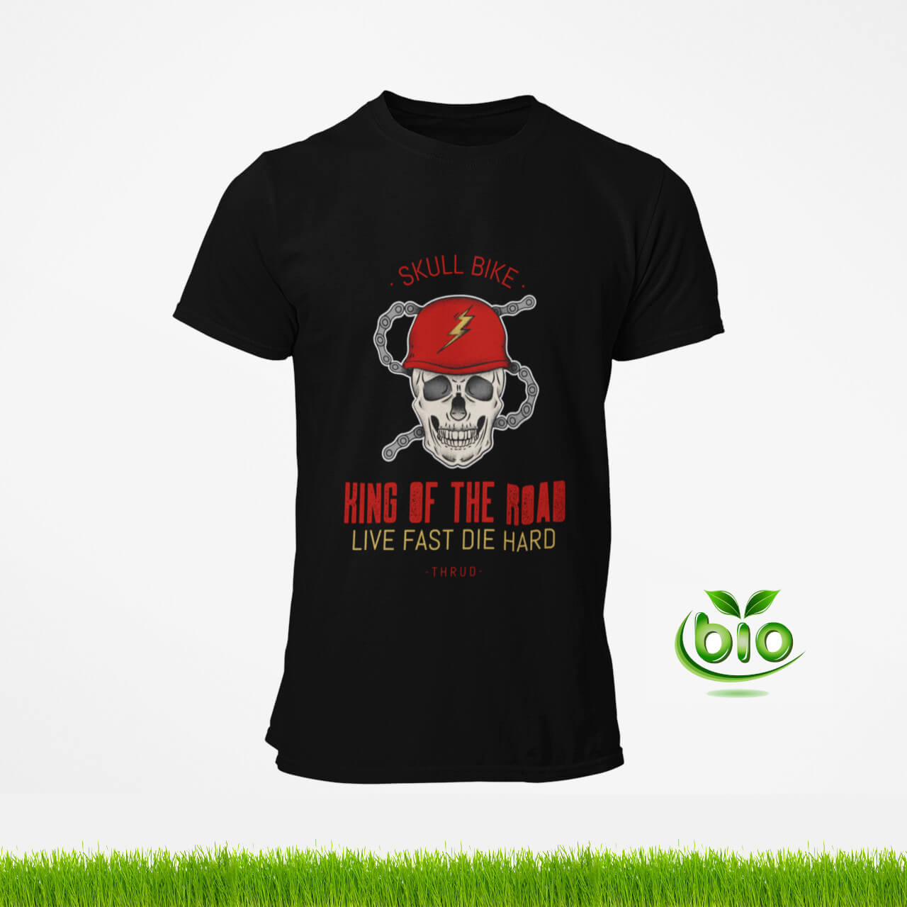 t-shirt motard king of the road de la marque thrud