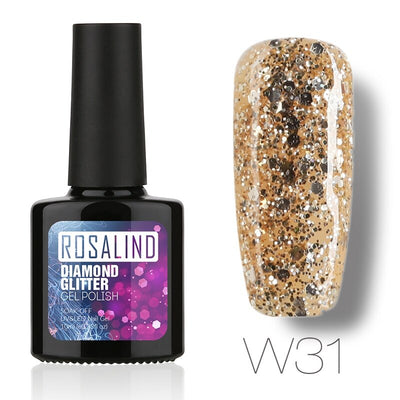 Rosalind Diamond Glitter Gel Polish