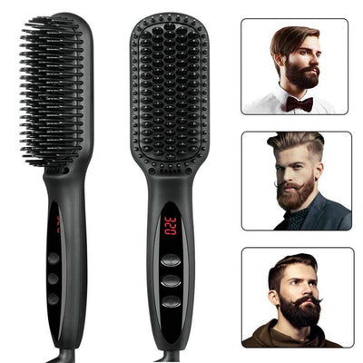 Electric Hair Straightener Brush