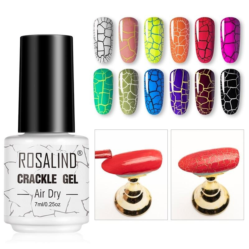 Rosalind Crackle Series Gel Polish