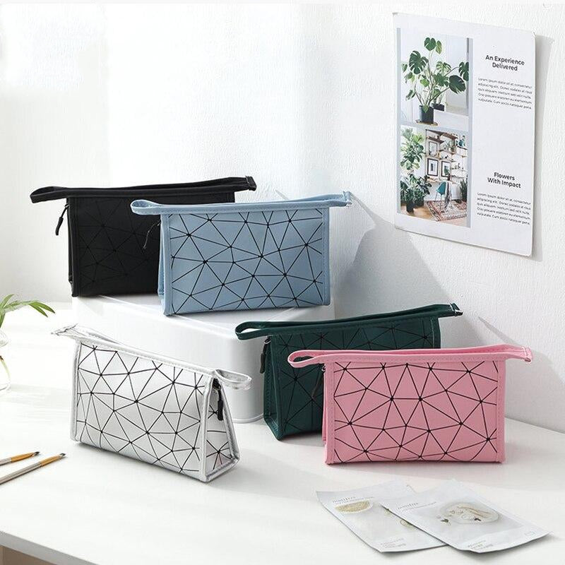 Patterned Travel Cosmetic Bag