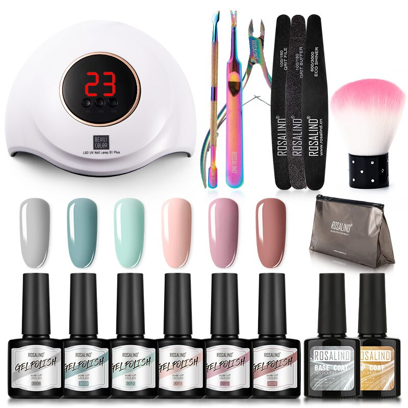 Rosalind Full Gel Polish Manicure Set