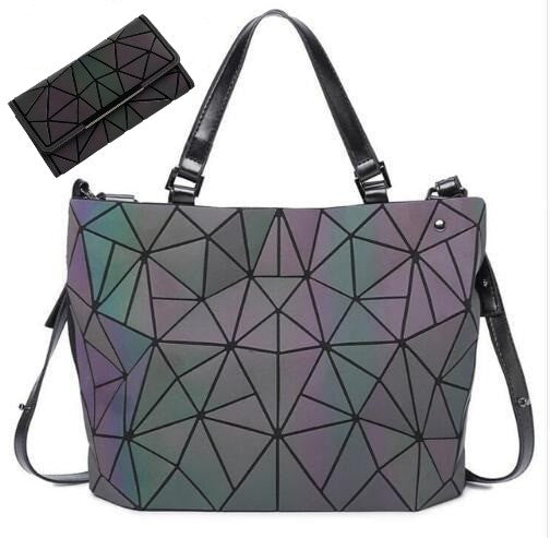Trendy Geo-Holographic Purse