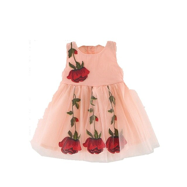 Humor Bear Summer Princess Dress Kids Dresses Children Clothing 2019 Brand Kid Clothes Girl Dress 4~24M Baby Girl Clothes