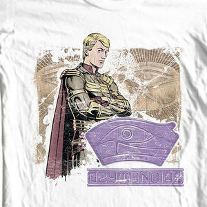 Ozymandias The Watchmen T shirt DC comics retro 1980s graphic novel tee WBM259 Long Sleeve Hoddies unisex hoddie short sleeve Te