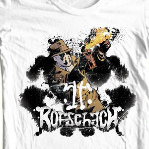 Rorschach The Watchmen T shirt DC Comics graphic novel 1980s graphic tee WBM260 Long Sleeve Hoddies unisex hoddie short sleeve T