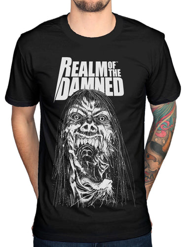 Official Realm Of The Damned 4 T Shirt New Merch Graphic Horror Novel Comic Book
