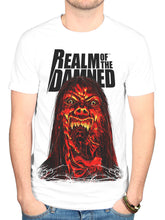 Load image into Gallery viewer, Official Realm Of The Damned 5 T Shirt New Merch Graphic Horror Novel Comic Book