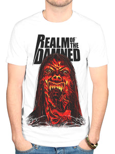 Official Realm Of The Damned 5 T Shirt New Merch Graphic Horror Novel Comic Book