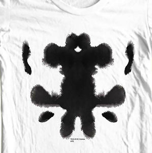 The Watchmen Rorschach Mask T shirt DC Comics retro 1980s graphic novel WBM117 Long Sleeve Hoddies unisex hoddie short sleeve Te