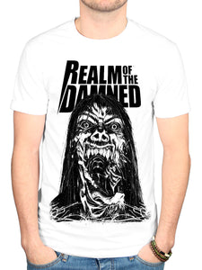 Official Realm Of The Damned 3 T Shirt New Merch Graphic Horror Novel Comic Book